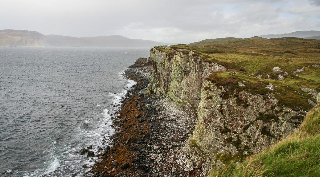 Dunscaith Castle auf Skye.
